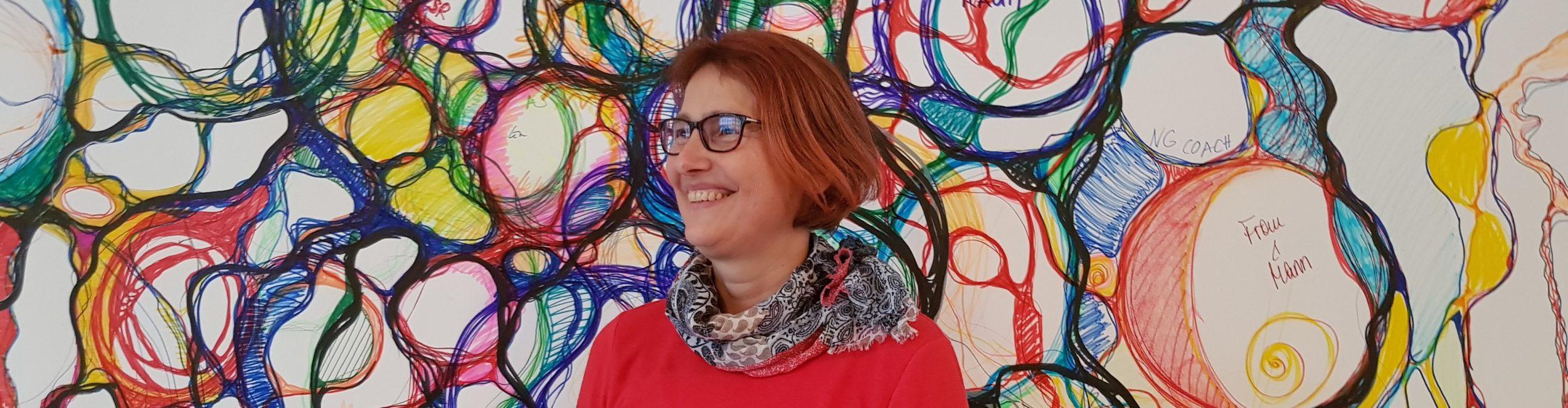 Doris Bürgel wendet Neurographik im Coaching an