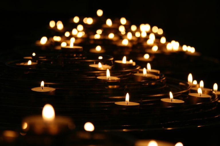 Du bist das Licht in der Dunkelheit!