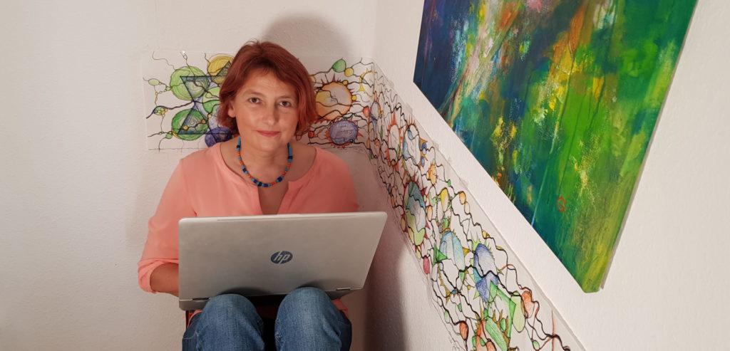 Doris Bürgel Du selbst wer sonst beim Schreiben eines Blog-Artikels