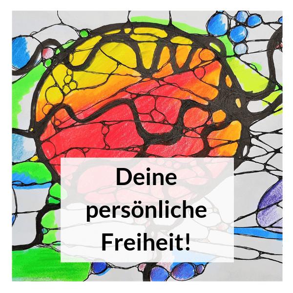 Zeichne Dich in Deine persönliche Freiheit Neurographik Entladung